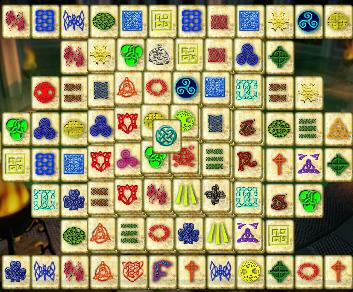 celtic mahjong gratuit en plein cran jeu en ligne et flash. Black Bedroom Furniture Sets. Home Design Ideas