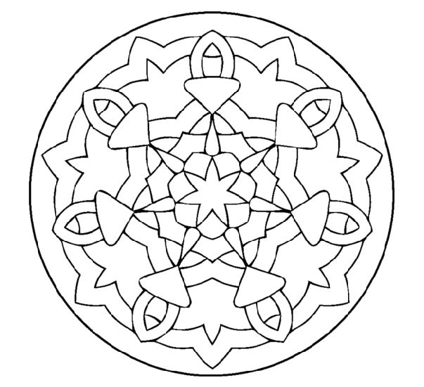 hex signs coloring pages - photo#25